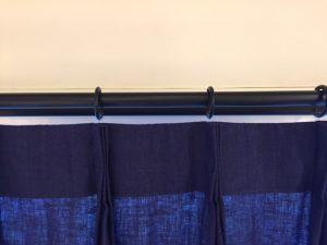 Aフックのカーテン