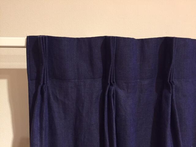 Bフックのカーテン